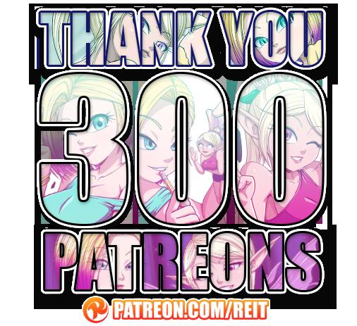 +300 Patreons!