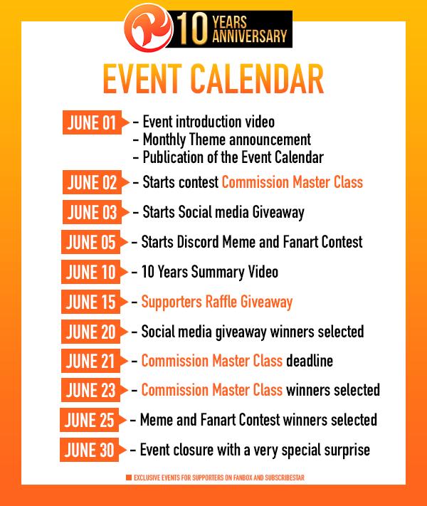 Event Calendar and Information