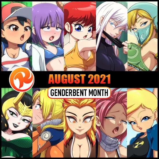 August 21 HD Pack: Genderbent